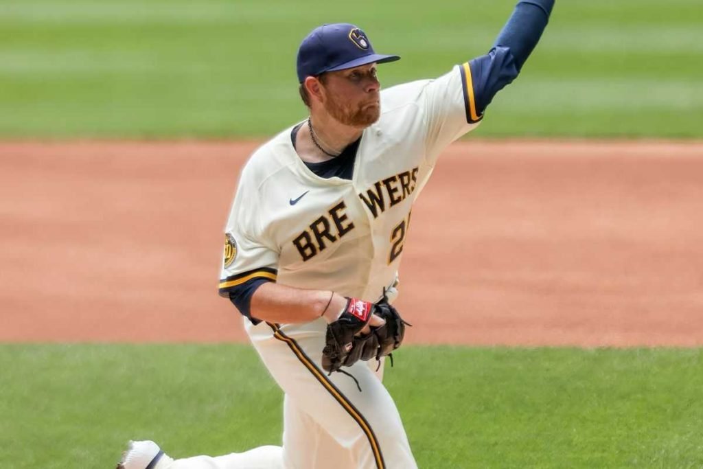 Brett Anderson Makes Brewers' Debut