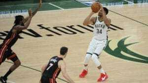 Giannis to lead the Bucks over the Heat