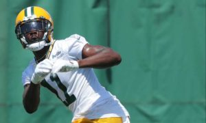 Devin Funchess at practice