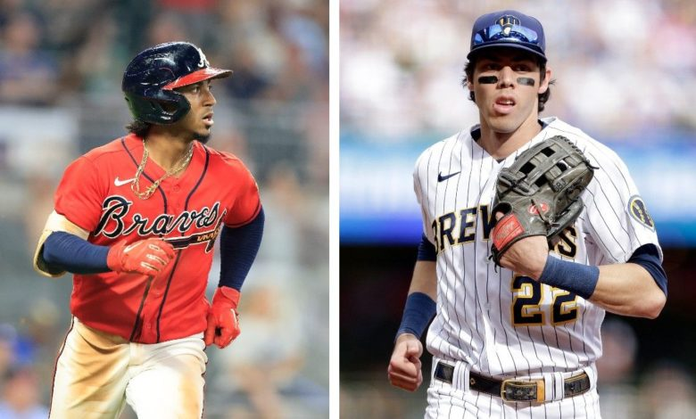 Brewers and Braves